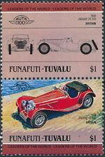 Tuvalu-Funafuti 1984 Leaders of the World - Auto 100 (1st Group) d