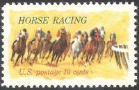 United States of America 1974 Horse Racing a