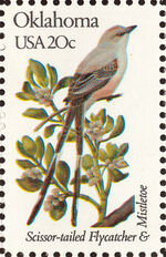 United States of America 1982 State birds and flowers zh