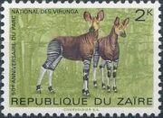 Zaire 1975 50th Anniversary of the Virunga National Park b