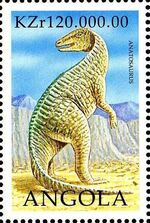 Angola 1998 Prehistoric Animals (2nd Group) d