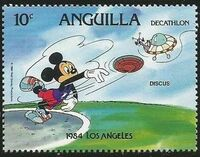 Anguilla 1984 Olympic Games Los Angeles g