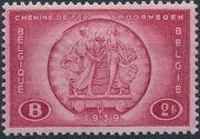 Belgium 1939 International Railroad Congress c
