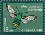Bulgaria 1975 Moths f