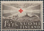 Finland 1939 75th Anniversary of the International Red Cross Society b