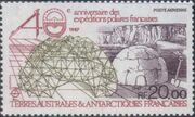 French Southern and Antarctic Territories 1988 40th Anniversary of the French Polar Expeditions a
