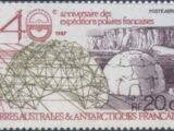French Southern and Antarctic Territories 1988 40th Anniversary of the French Polar Expeditions