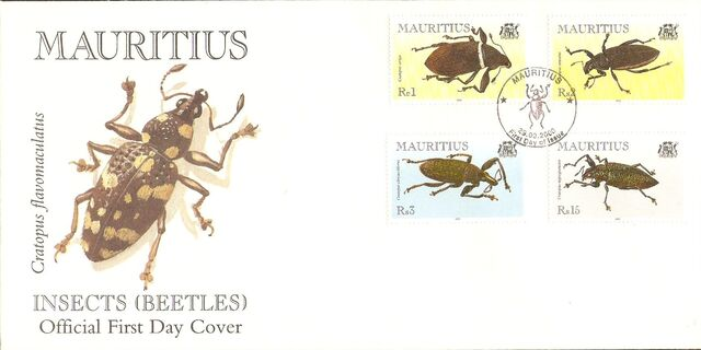 Mauritius 2000 Insects (Beetles) f