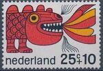 Netherlands 1968 Child Welfare Surtax d