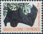 New Caledonia 1983 Bat Issue (Official Stamps) b