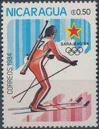 Nicaragua 1984 Winter Olympics - Sarajevo' 84 a