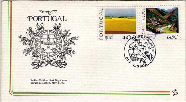 Portugal 1977 Europa e