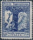 Tripolitania 1928 46th Anniversary of the Societa Africana d'ltalia d