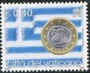 Vatican City 2004 Flags and One-Euro Coins g