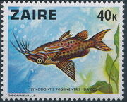 Zaire 1978 Fishes g