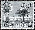 Abu Dhabi 1966 Sheik Zaid bin Sultan al Nahayan Surcharged i.jpg