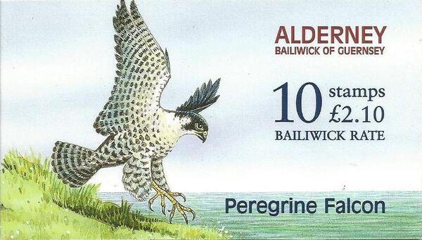 Alderney 2000 WWF Peregrine Falcon Ba