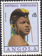 Angola 1961 Native Women from Angola b