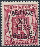 Belgium 1938 Coat of Arms - Precancel (12th Group) c