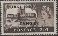 British Offices in Tangier 1957 Centenary Overprint (1857-1957) r