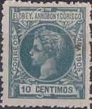 Elobey, Annobon and Corisco 1905 King Alfonso XIII f