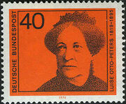 Germany, Federal Republic 1974 Famous Woman a