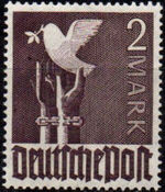 Germany-Allied Occupation 1947 2nd Allied Control Council Issue n