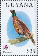 Guyana 1994 Birds of the World (PHILAKOREA '94) t
