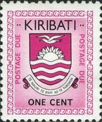 Kiribati 1981 National Arms (Postage Due Stamps) a