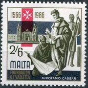 Malta 1966 4th Centenary Of The Foundation Of Valletta e