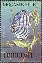 Mozambique 2002 Butterflies l
