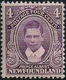 Newfoundland 1911 Royal Family d