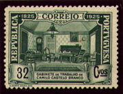 Portugal 1925 Birth Centenary of Camilo Castelo Branco m