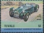 Tuvalu 1984 Leaders of the World - Auto 100 (1st Group) l