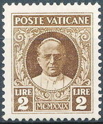 Vatican City 1929 Conciliation Issue j