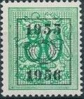 Belgium 1955 Heraldic Lion with Precancellations f