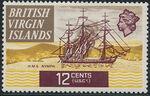 British Virgin Islands 1970 Ships j