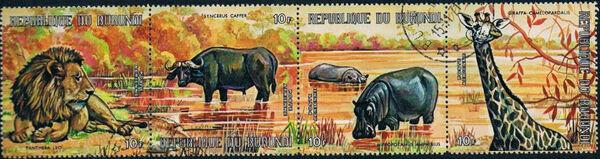 Burundi 1971 Animals aa