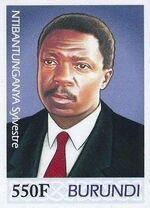 Burundi 2012 Presidents of Burundi - Sylvestre Ntibantunganya f
