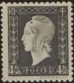 France 1945 Marianne de Dulac (2nd Issue) n