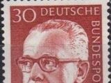 Germany, Federal Republic 1971 President Gustav Heinemann (3rd Group)