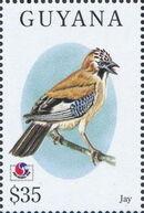 Guyana 1994 Birds of the World (PHILAKOREA '94) v