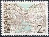 Liechtenstein 1973 Landscapes m