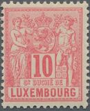 Luxembourg 1882 Industry and Commerce e