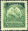 Nicaragua 1895 Official Stamps Overprinted in Blue c.jpg