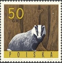 Poland 1965 Forest Animals d