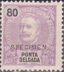 Ponta Delgada 1897 D. Carlos I SPi