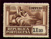 Portugal 1924 400th Birth Anniversary of Camões v