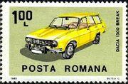 Romania 1983 Romanian Cars b