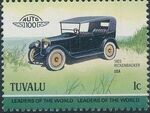 Tuvalu 1985 Leaders of the World - Auto 100 (2nd Group) f